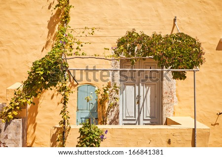 old home of Greece - stock photo