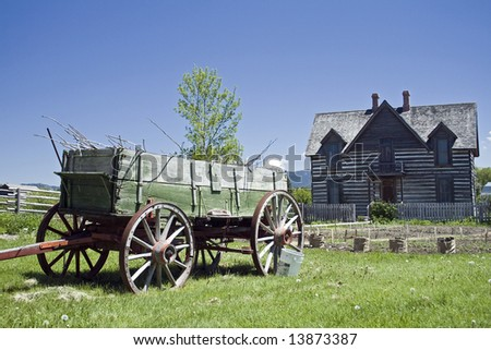 Old Homestead - stock photo