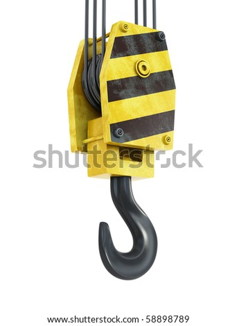 old hook - stock photo