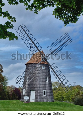 Old Hook Mill, East Hampton, Long Island, New York
