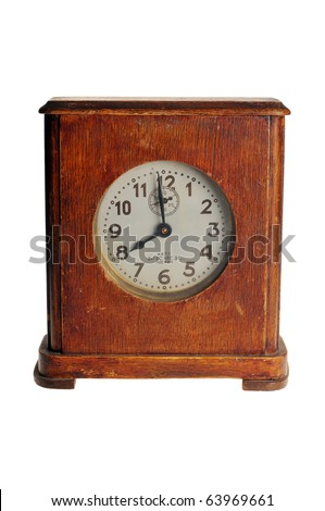 Old hours per the wooden case