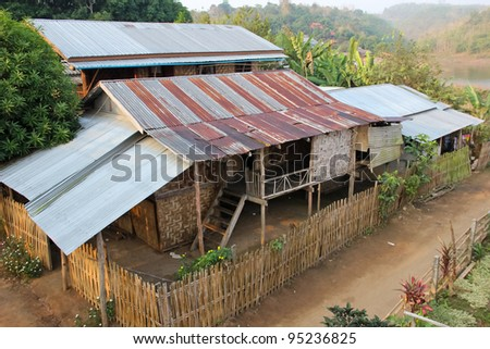 Old house. - stock photo
