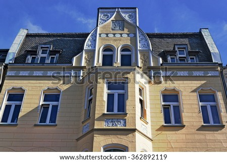 Old house from 1904 - stock photo
