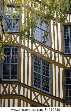 old house in Rouen
