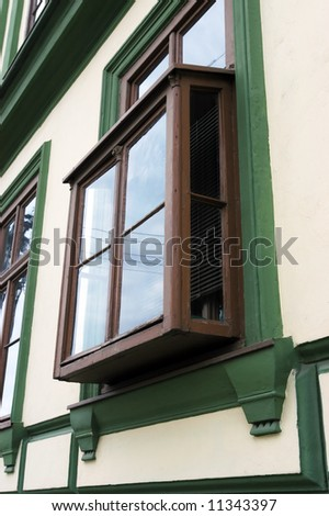 Old kibitz window, you can find it in some parts of Serbia