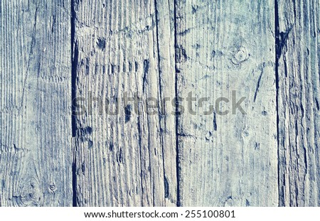 old knotted wooden boards closeup - stock photo