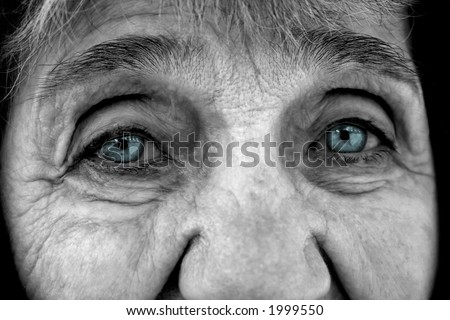 Old Lady - stock photo