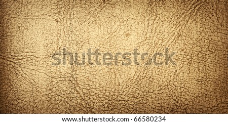 old leather - stock photo
