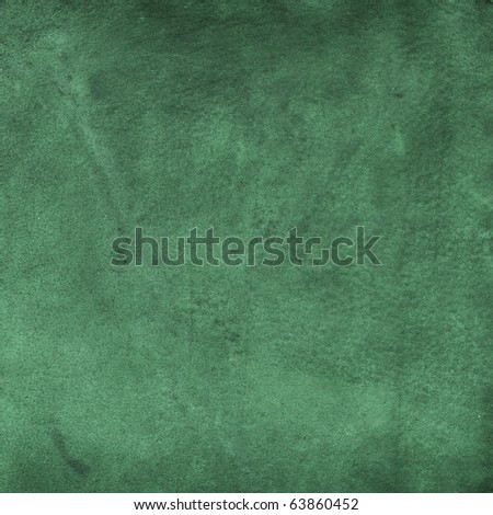 Old leather, green chamois texture