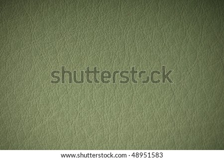 Old leather (vignetted) - stock photo