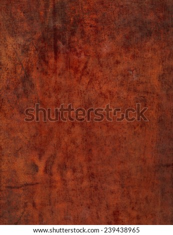 Old leather vintage color red marsala background - stock photo