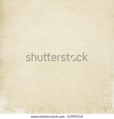 Old light cardboard surface, useful as background element in design-works. - stock photo