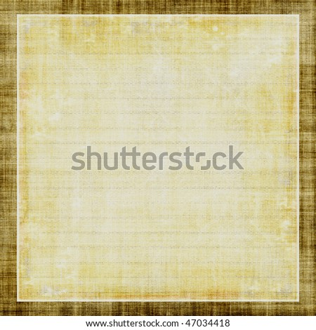 Old Light Paper - stock photo