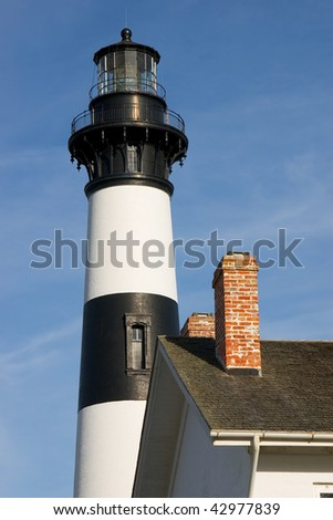 Old Lighthouse and the chimney