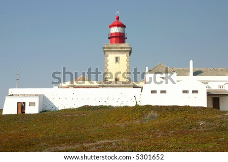 old lighthouse building and fortress