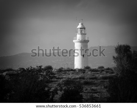 Old Lighthouse. Kato Pafos, Cyprus.