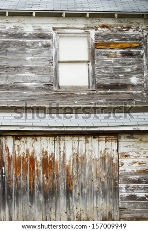 Old little house  - stock photo