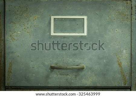 old Lockers for background - stock photo