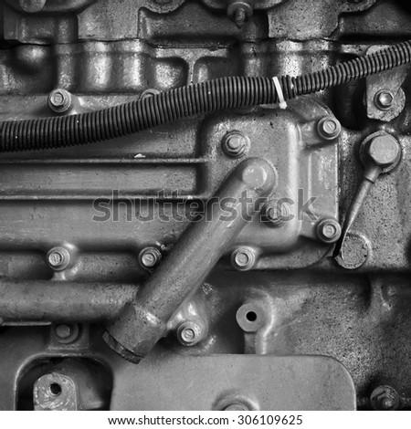 Old machine  - stock photo