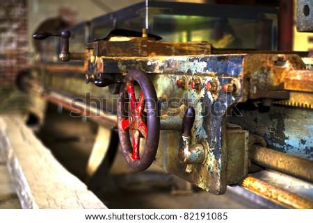 Old machinery - stock photo