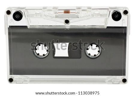 Old magnetic audio tape