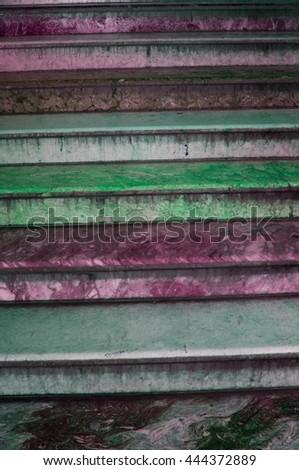 old marble stairs