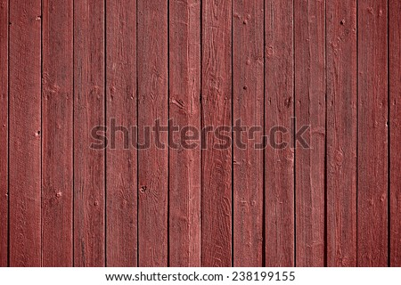 Old, marsala colored grunge wood panels used as background, Marsala color of the year - stock photo