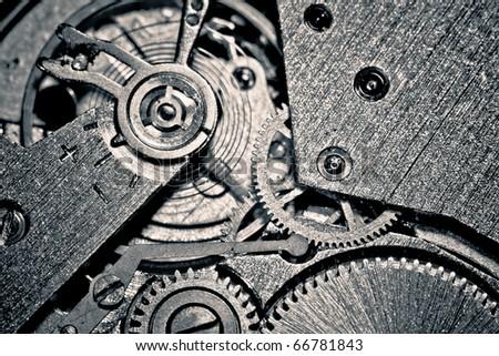 old mechanism - stock photo