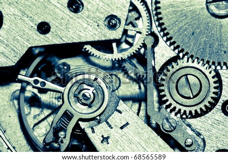 old mechanism - stock photo