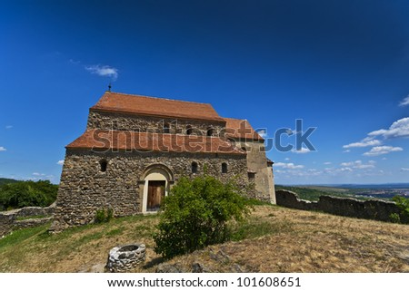 Old medieval structures in Transylvania