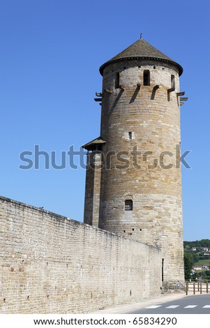 old medieval tower