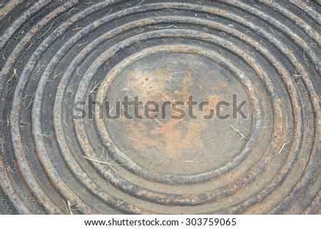 old Metal abstract background - stock photo