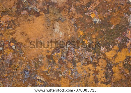 Old metal iron rust surface - stock photo