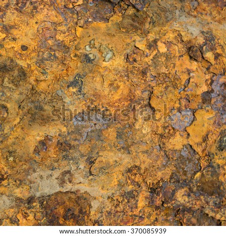 Old metal iron rust surface