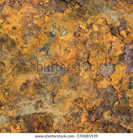 Old metal iron rust surface - stock photo