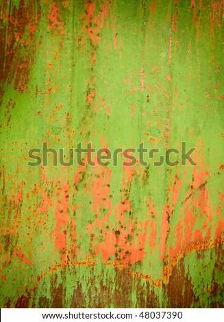old metal texture - stock photo