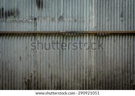 Corrugated Iron Wood Stock Images Royalty Free Images