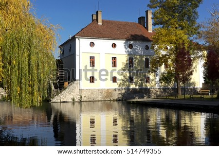 Old mill house in Tapolca , Hungary