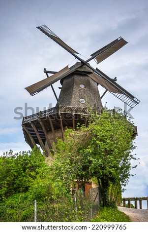 Old mill in Potsdam, Germany