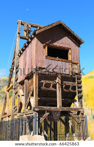 Old Mining Shaft in Colorado