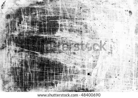 old monochrome grunge background texture - stock photo