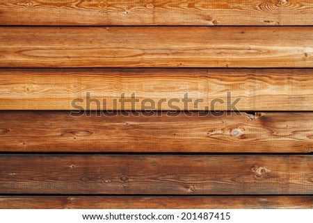 Old natural uncolored wooden wall surface. Background photo texture - stock photo