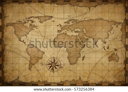 Old nautical vintage world map theme ilustracin en stock 573256384 old nautical vintage world map theme ilustracin en stock 573256384 shutterstock gumiabroncs Images
