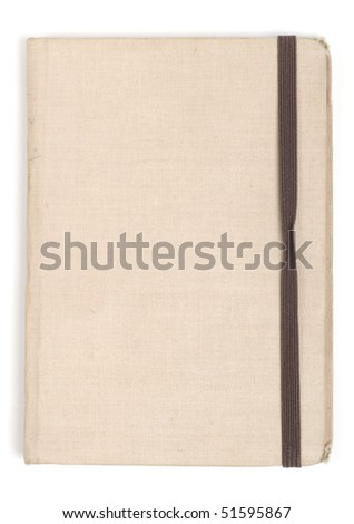 old note pad - stock photo