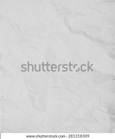 old note paper isolated on white background - stock photo
