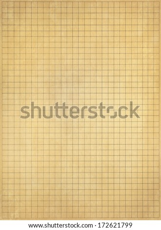 Old notebook paper background - stock photo