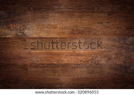 old oak wooden background - stock photo