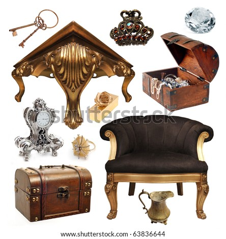 old objects - stock photo