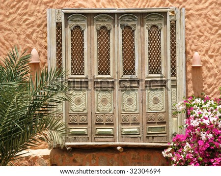 Old orient doors