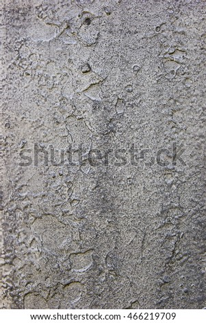 Old painted gray metal surface, grunge texture